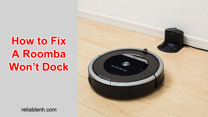 solutions for the roomba to return its docking station