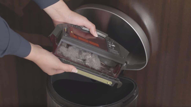tips to maintain the roomba dustbin