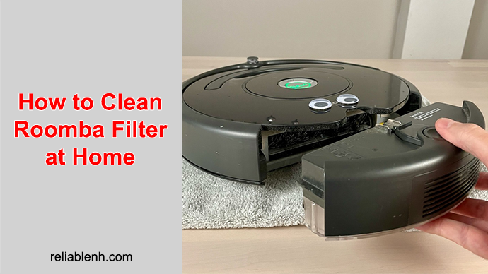 steps to clean roomba filter